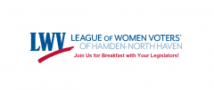 League of Women Voters of Hamden North Haven Legislative Breakfast Invitation Image