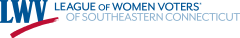Logo for LWV Southeastern CT