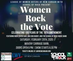 New Canaan Women Rock the Vote Live Concert Image