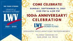 100th Anniversary Celebration  April 25, 2021