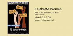 """Celebrate Women"" free concert"