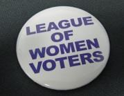 League of Women Voters Big Buttons