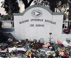Marjory Stoneman Douglas High School after shooting