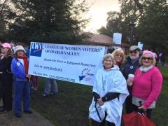 League members at local rally