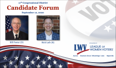 Candidate Forum IL Congressional District 11