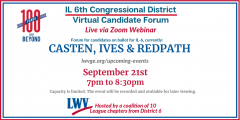 2020 Forum IL 6 Congressional