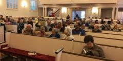 Attendees at Fall Forum