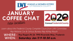 Poster for January Coffee Chat