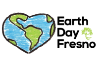 earth day fresno logo