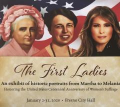 first lady portraits