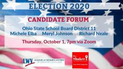 OHBOE District 11 forum