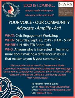 Demo - Civic Engagement Workshop