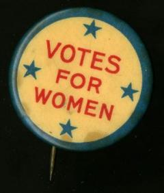 201015 Gilder Lehrman Inside the Vault: Women's Suffrage pin