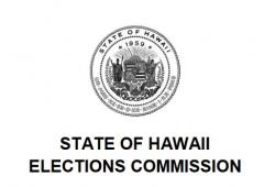 LWVHC Hawaii State Elections Commission logo