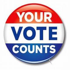 Your Vote Counts!