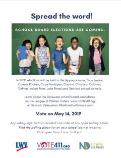 School board elections are coming