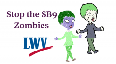 Stop Senate Bill 9 Zombies Now Attached to House Bill 2911