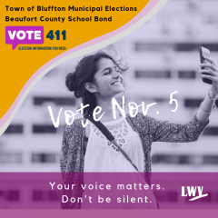 Vote Nov. 5. Your voice matters. Don't be silent.