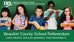 Beaufort School Referendum: get the facts, vote