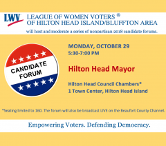 Oct 29 HH Mayoral Candidate Forum