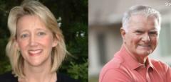 Kim Likins and John McCann, Runoff Candidates for Hilton Head Mayor