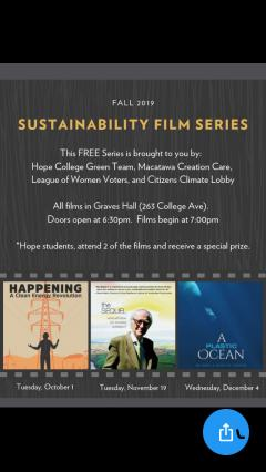sustainability film series 2019