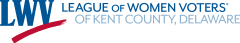 logo of League of Women Voters of Kent County