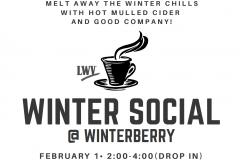 Winter Social Flyer