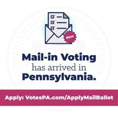 Mail-in voting has arrived