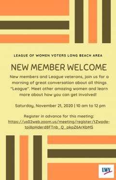 November 2020 Event Flyer