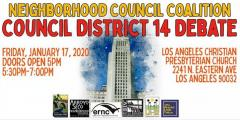 CD 14 Candidate forum flyer