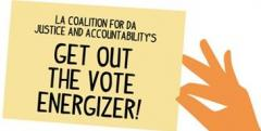 GET OUT THE VOTE ENERGIZER EVENT