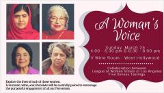 A Woman's Voice Celebration of Women's History Month