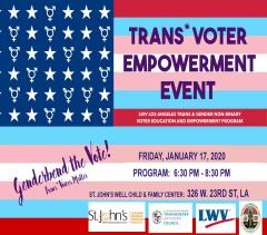 Trans Voter Empowerment Event