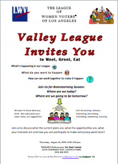 Village League invitation