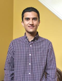 Photo of Shahab Taheri, one of our guest speakers at this September's Dinner and Democracy Community Forum.