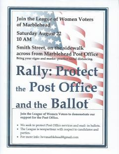 Protect the PO Rally  Aug 22 10am