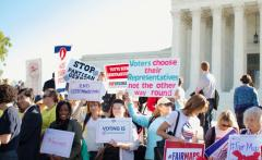 Take action with the league of women voter national issues