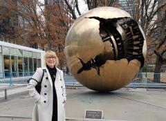 Cindy Bell NYHR President at UN