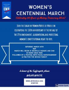 Centennial March Flyer