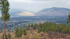Photo of Missoula Valley from Blue Mountain