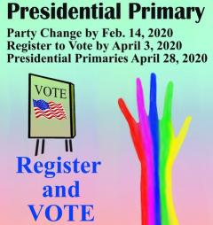 Presidential Primary Party Change Registration and Primaries