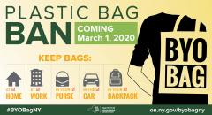 Plastic Bag Ban Coming March 1, 2020 BYOB
