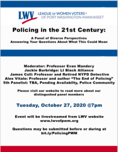 Policing Civil Discourse Flyer