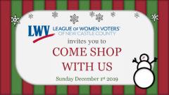 LWVNCC Come Shop with Us December 1st, 2019