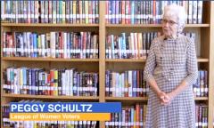 Peggy Schultz - League of Women Voters