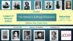 The Woman's Suffrage Movement Below the Color Line