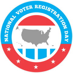 National Voter Registration Day - Tuesday, September 24, 2019