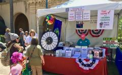 LWV Earth Day Booth