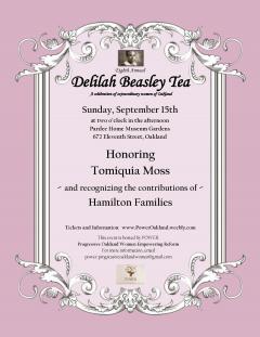 Delilah Beasley Tea